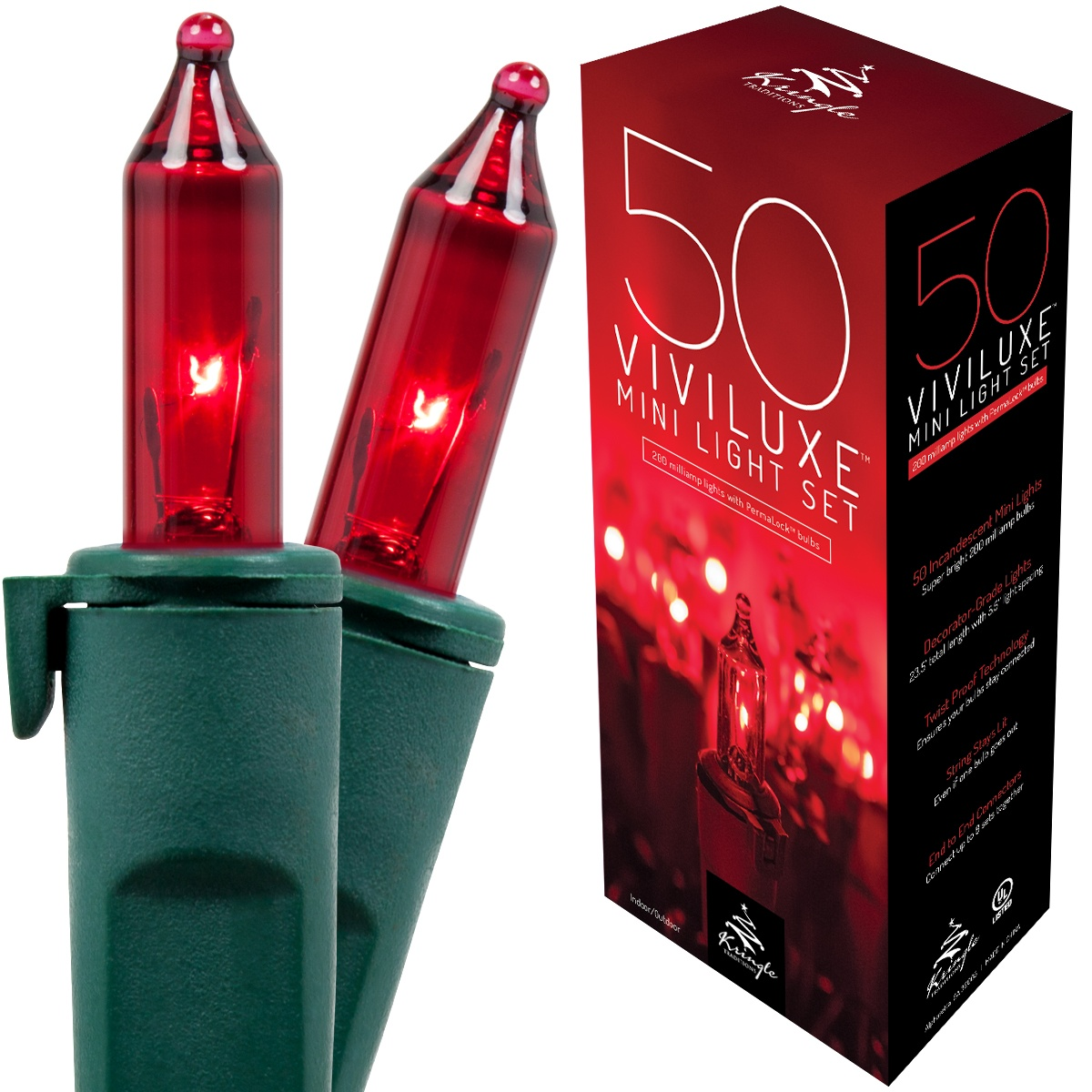 Red White And Green Led Christmas Lights