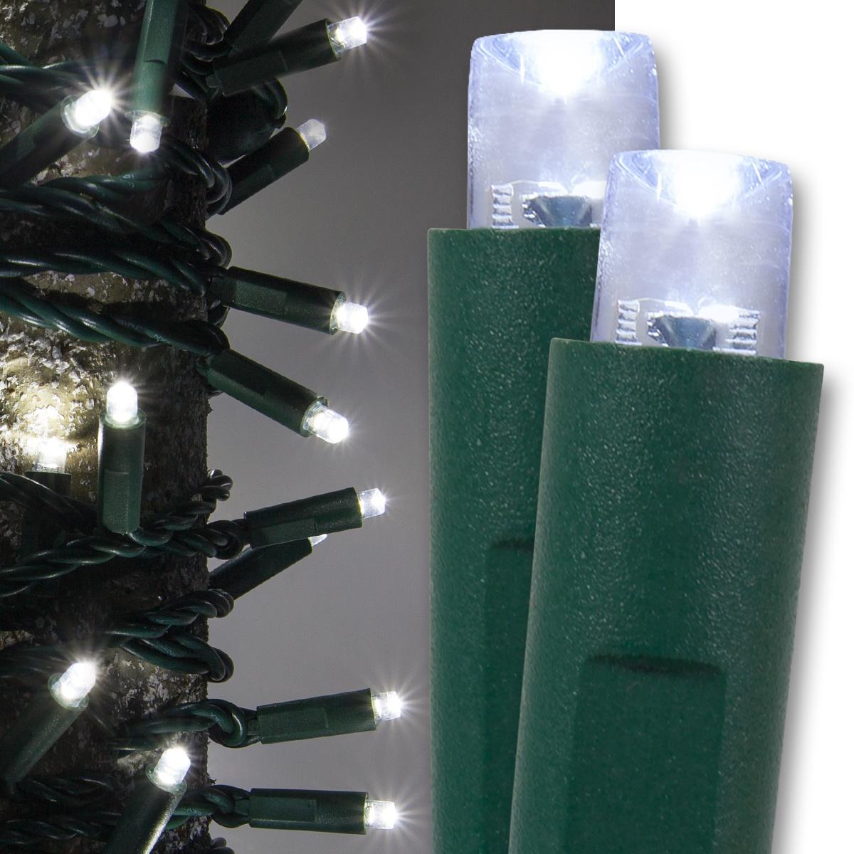 Wide angle mm led lights cool white christmas