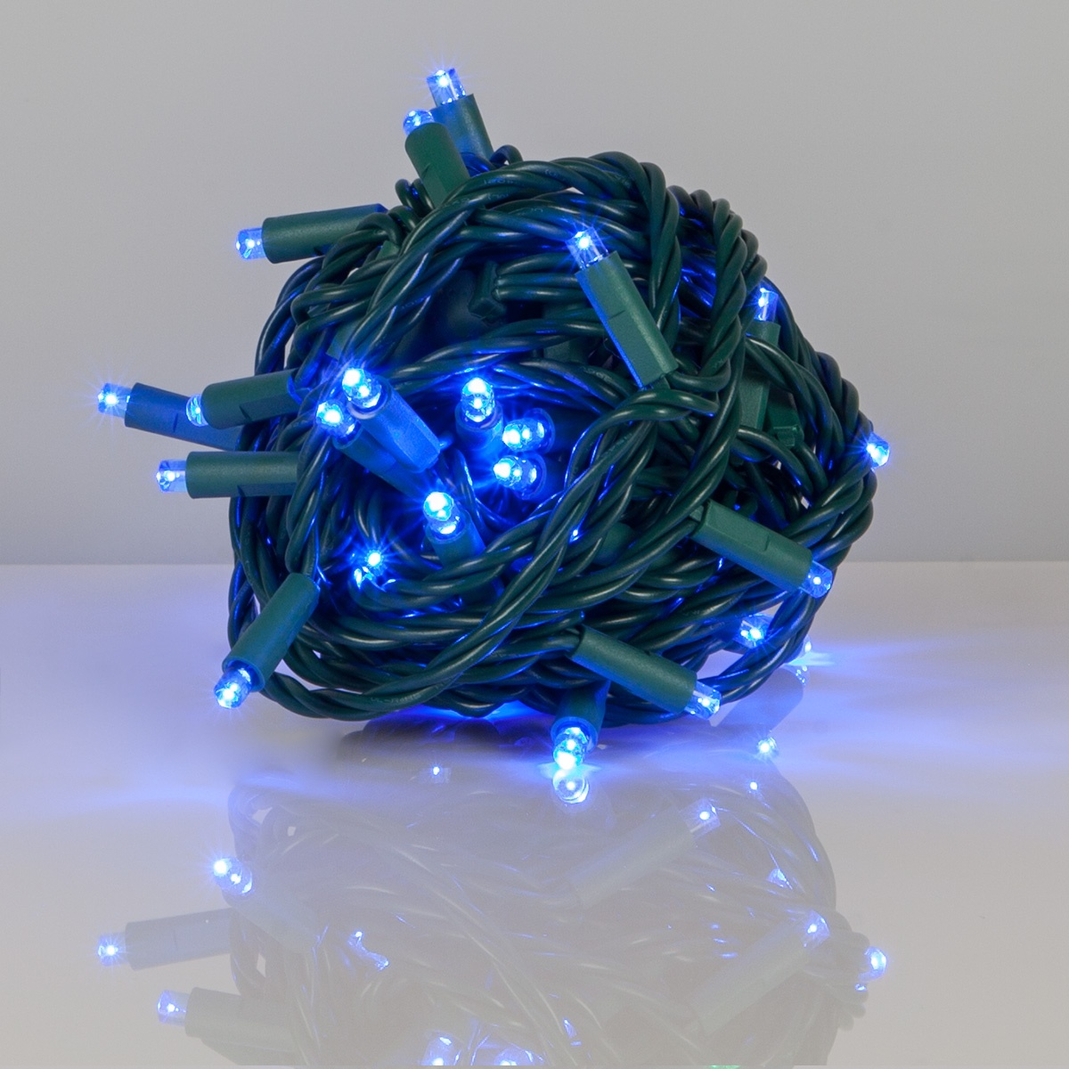 Wide Angle 5MM LED Lights - 50 Blue Outdoor LED Christmas ...