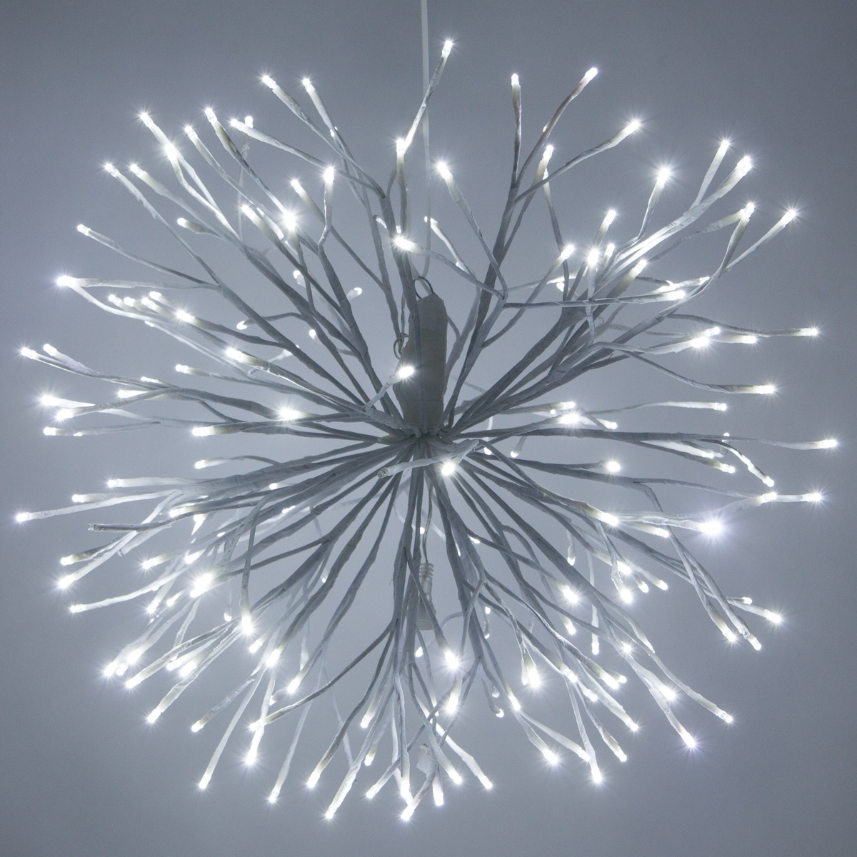 Lighting Warehouse Branches: White Starburst Lighted Branches With Cool White LED