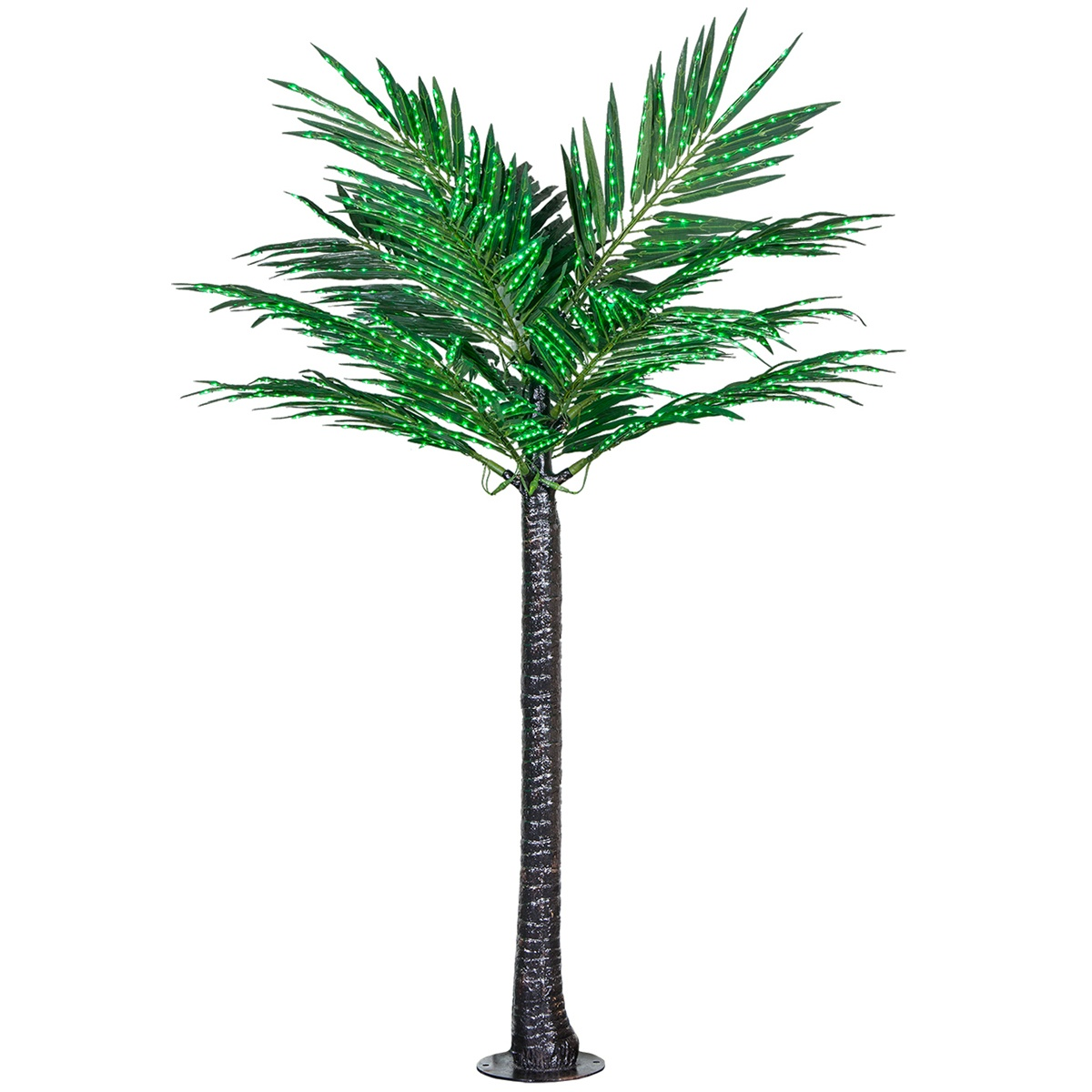 8' LED Deluxe Commercial Lighted Palm