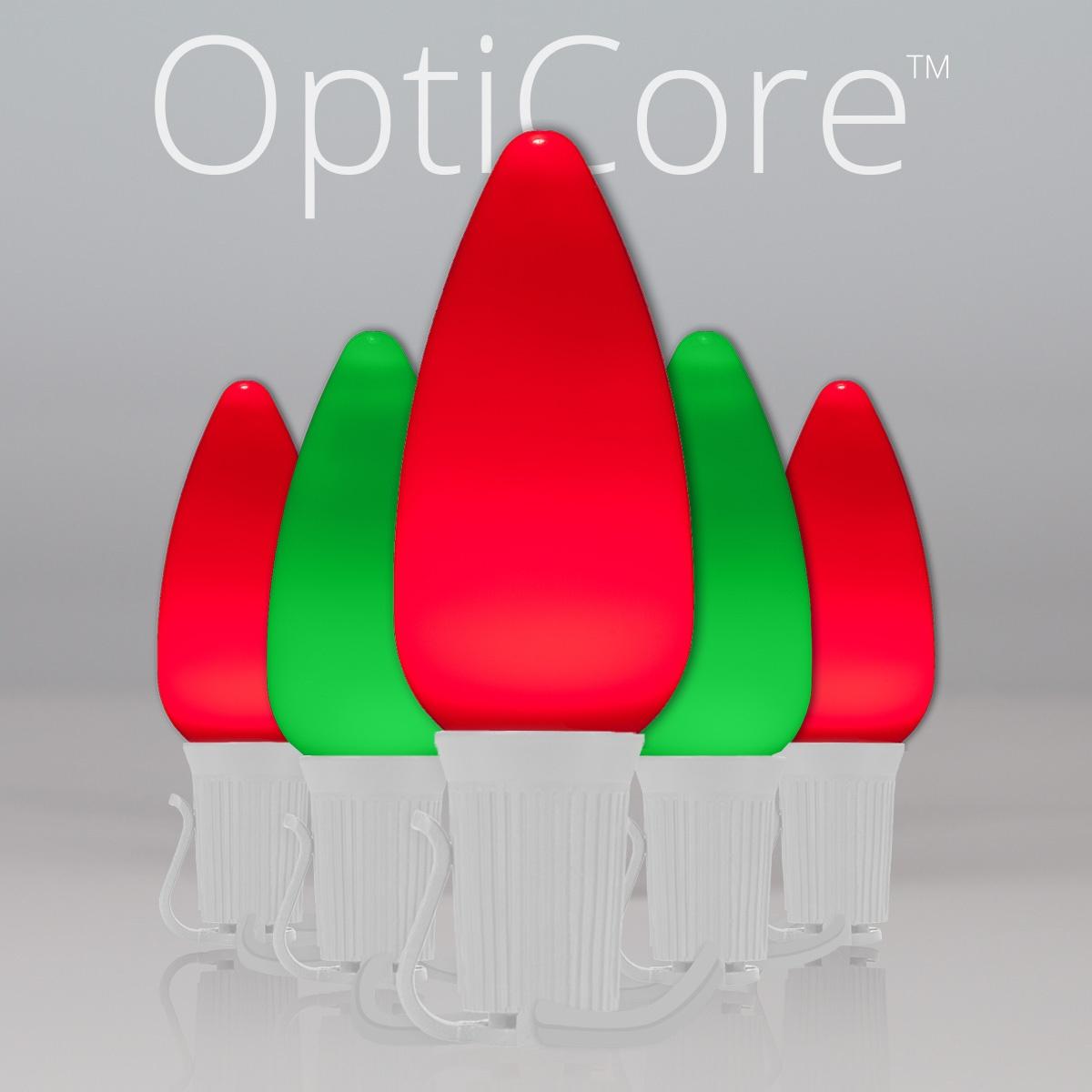 Green C9 Led Christmas Lights