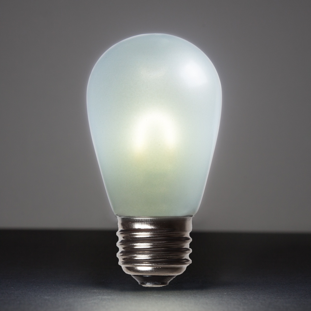 S14 Cool White Glass Flexfilament Tm Led Edison Bulb Satin