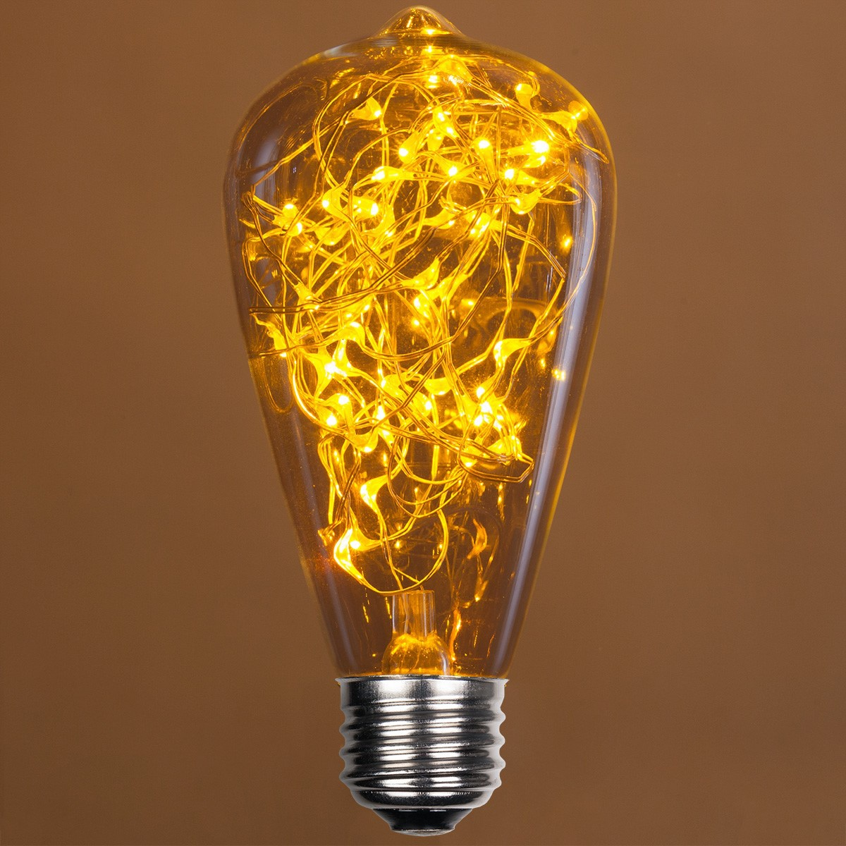 St64 Gold Ledimagine Tm Fairy Light Bulb
