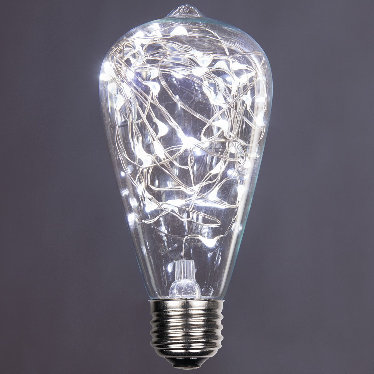 St64 Cool White Ledimagine Tm Fairy Light Bulb