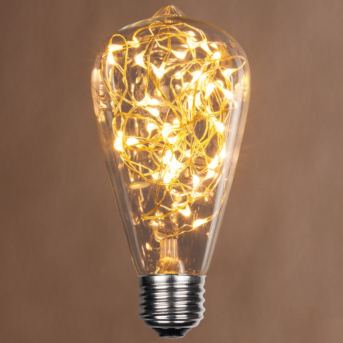 St64 Warm White Ledimagine Tm Fairy Light Bulb