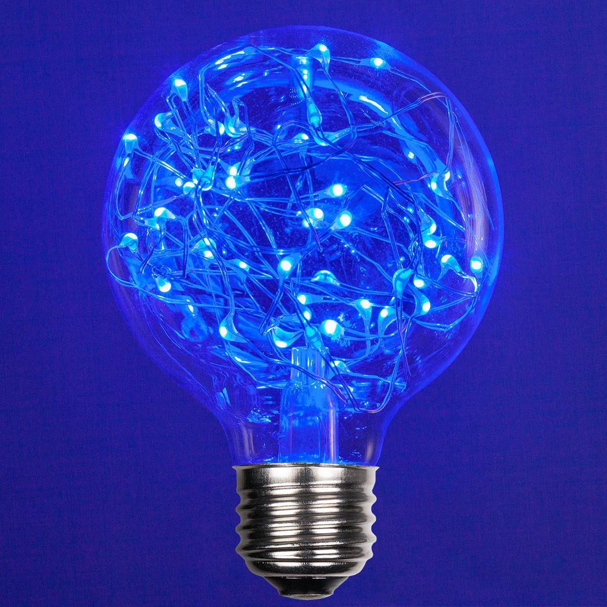 Led Bulbd: G80 Blue LEDimagine TM Fairy Light Bulb