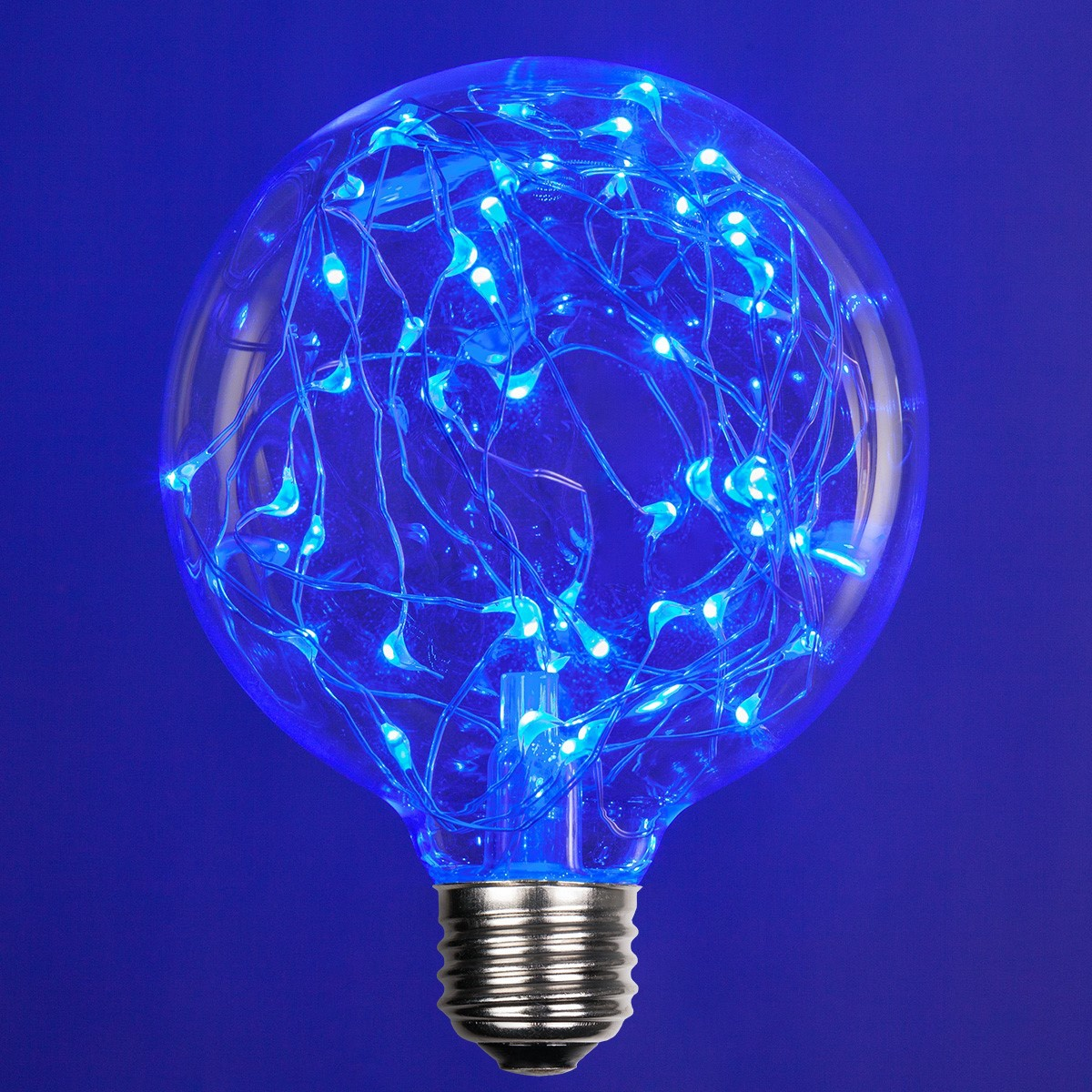 G95 Blue Ledimagine Tm Fairy Light Bulb