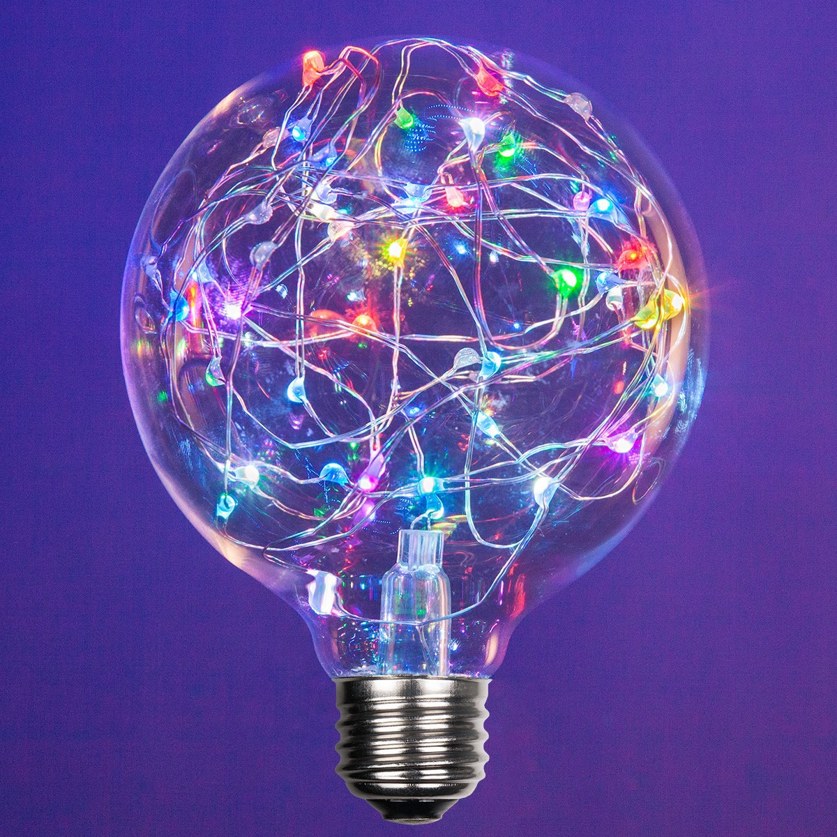 G95 Color Change Rgb Ledimagine Tm Fairy Light Bulb