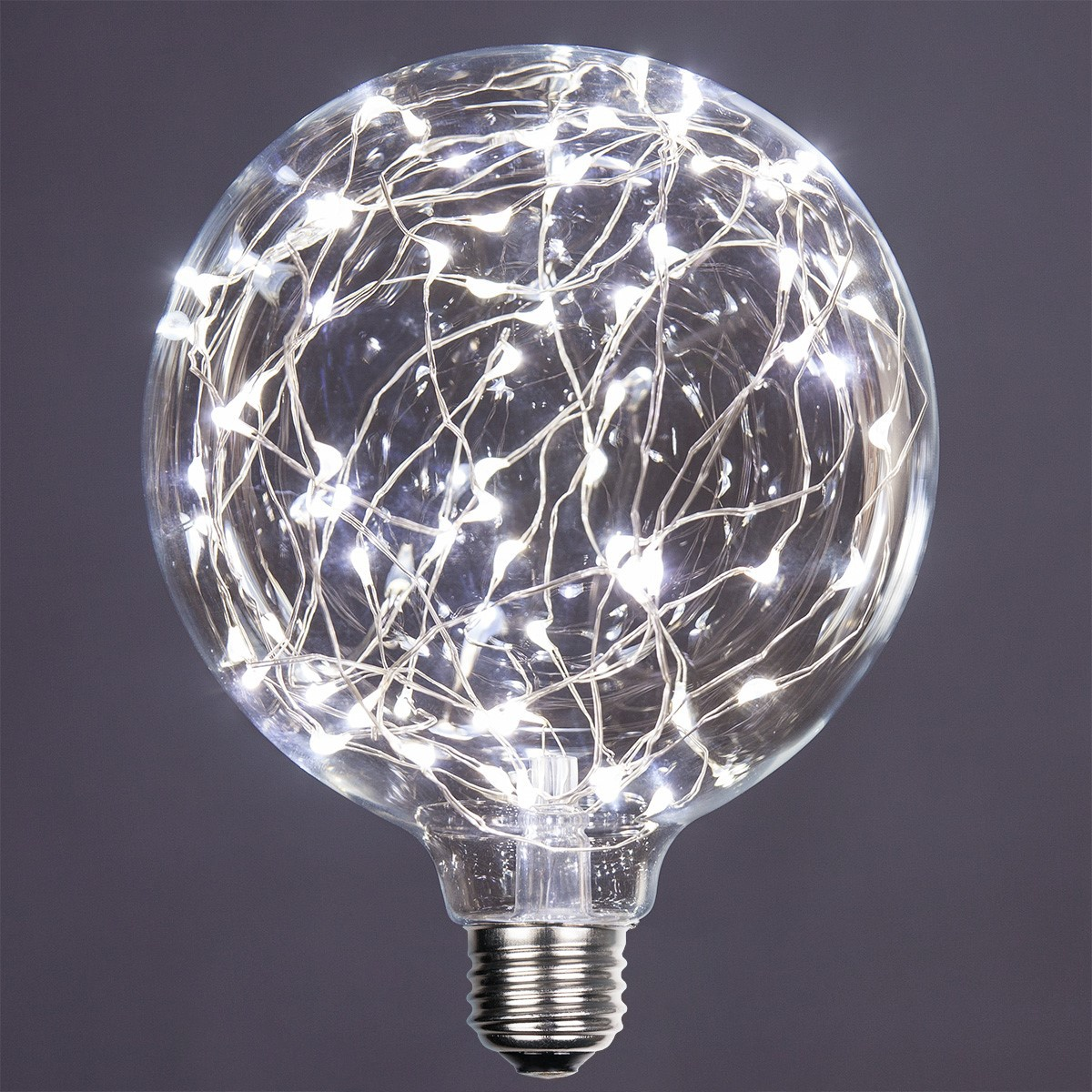 G125 Cool White Ledimagine Tm Fairy Light Bulb