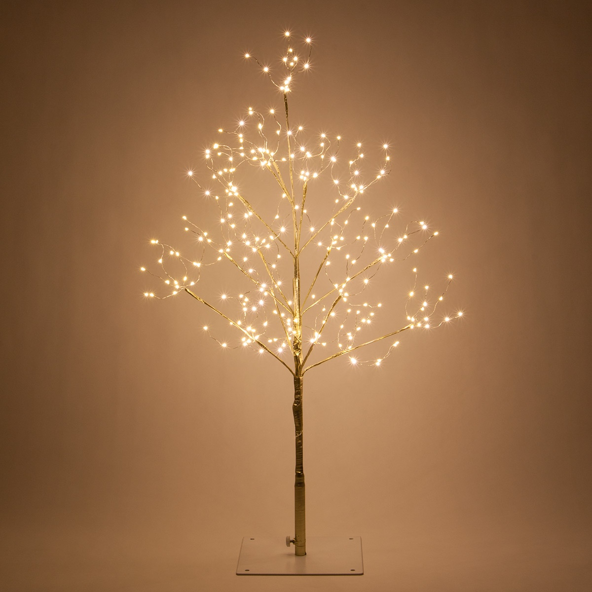 Gold Fairy Light Led Tree