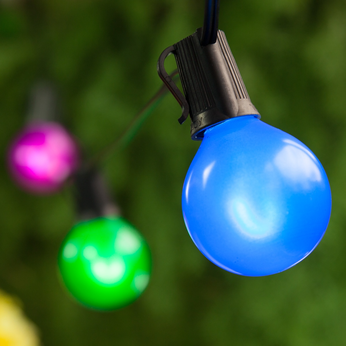 Patio Lights Multicolor Satin Led Party Lights 50 G50