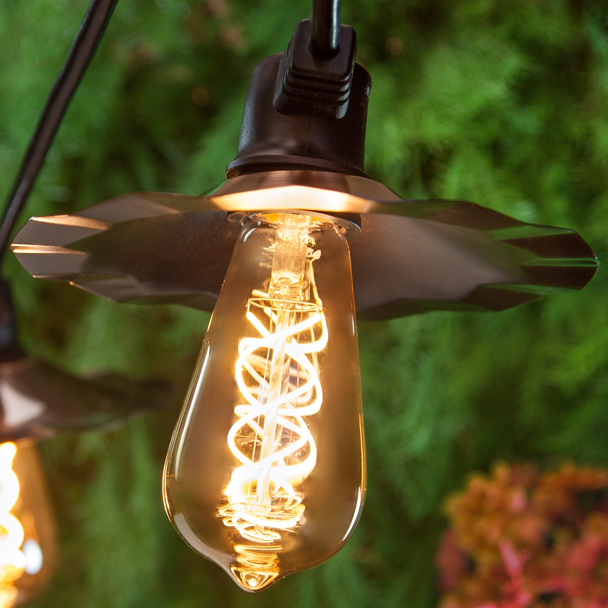Patio Lights Warm White Led Patio String Lights 7 St64