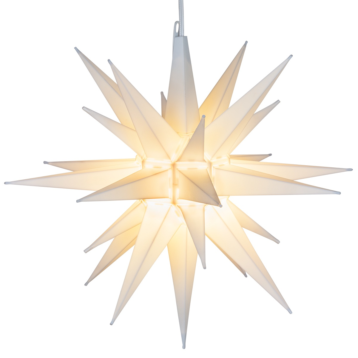 moravian stars 14 white led moravian star