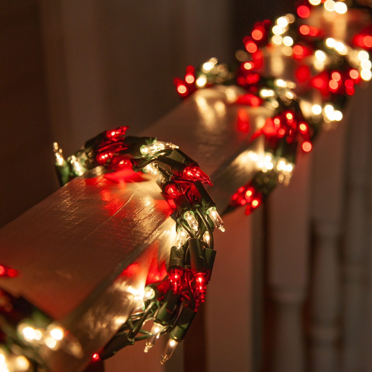 Led Shop Lights >> Garland Lights - 9' Garland Lights, 300 Red/Clear Lights ...