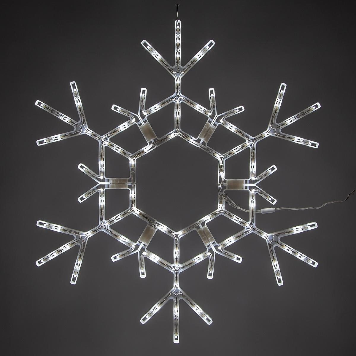 Snowflakes Amp Stars 36 Quot Led Folding Snowflake Decoration
