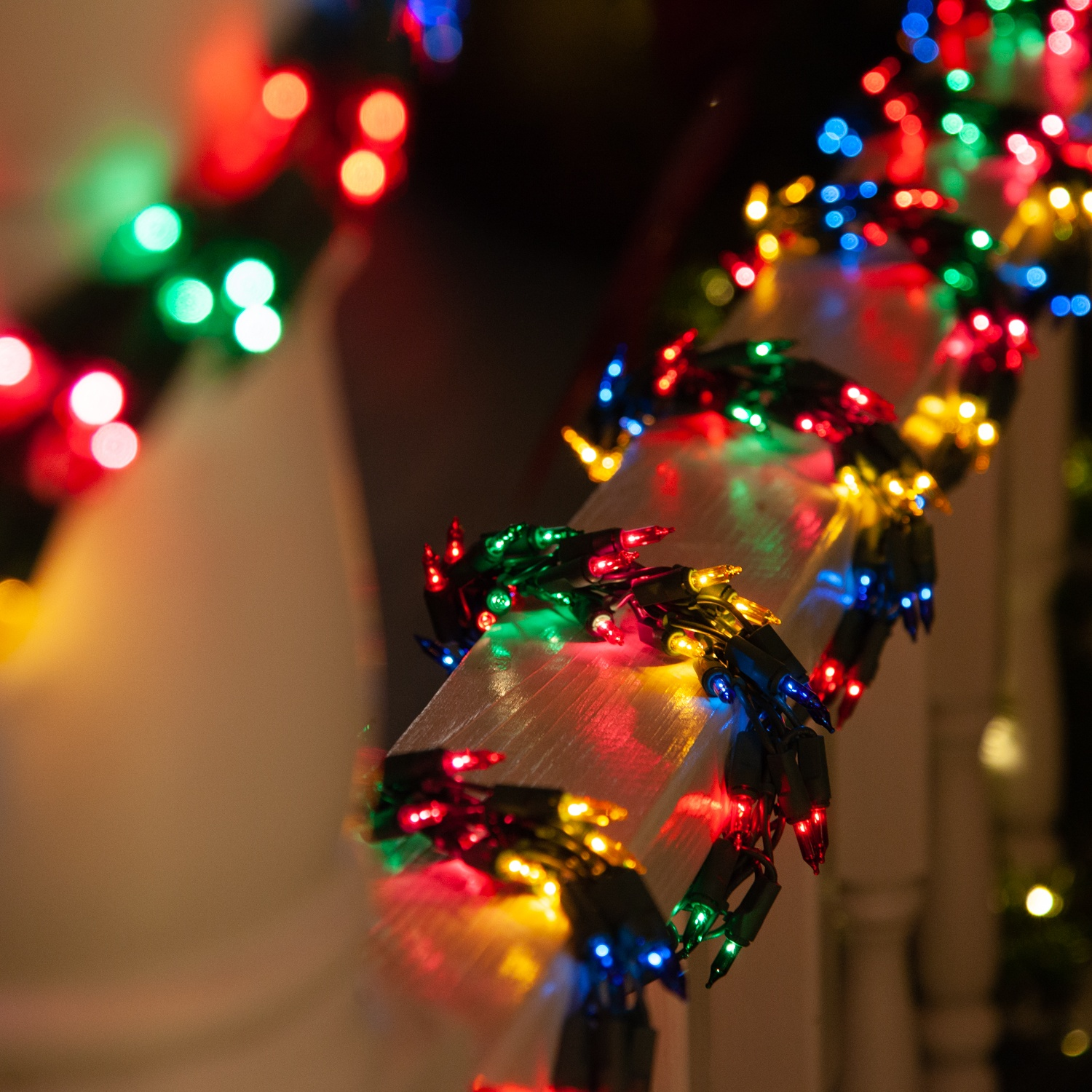 Garland Lights 9 Garland Lights 300 Multicolored Lamps