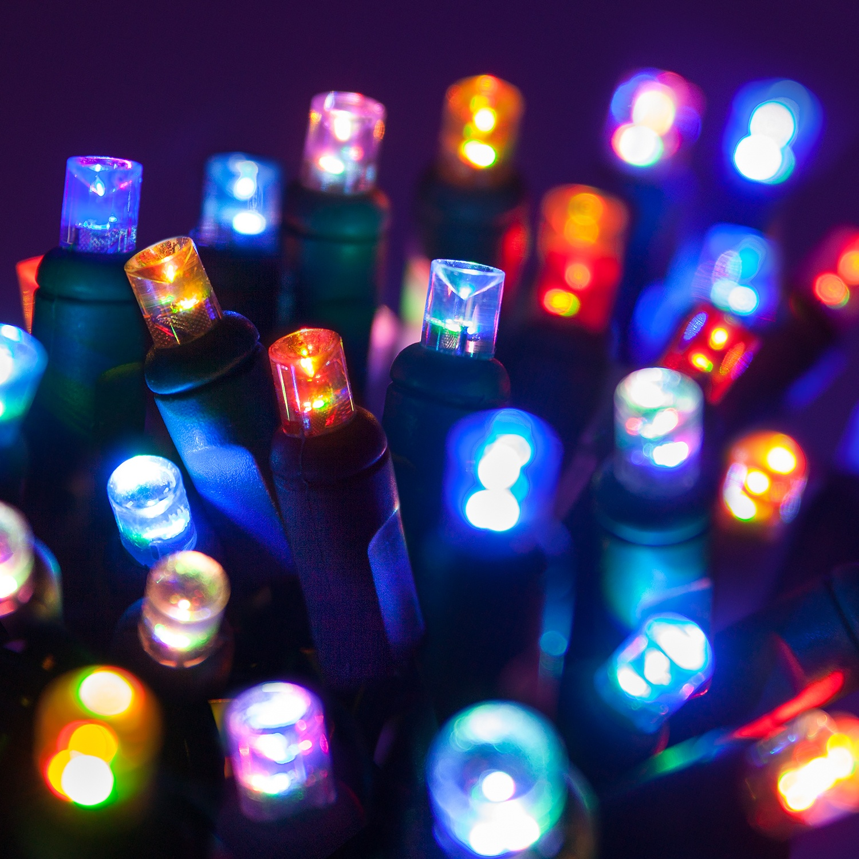 Wide Angle 5MM LED Lights - 50 5mm Multi Color Color ...