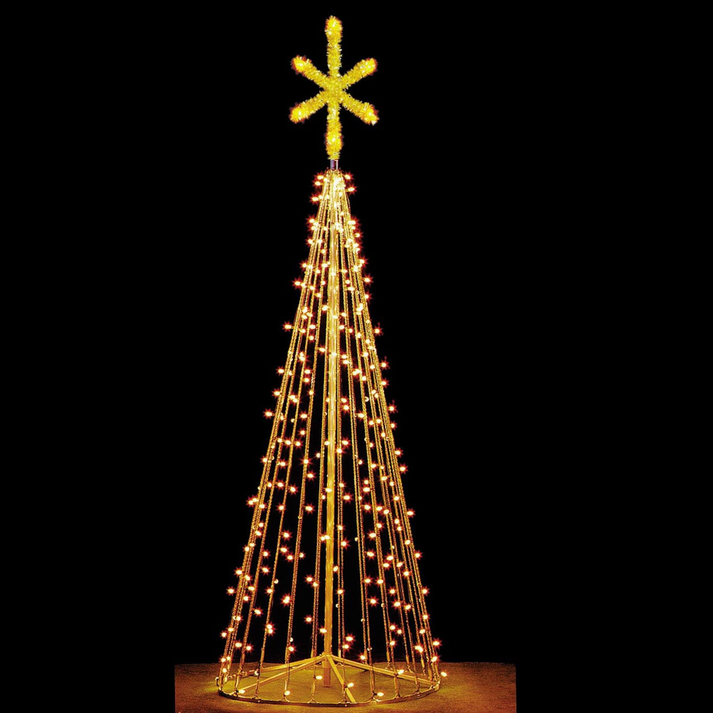 Artificial christmas trees 15 39 tree of lights tree c7 - Large bulb exterior christmas lights ...
