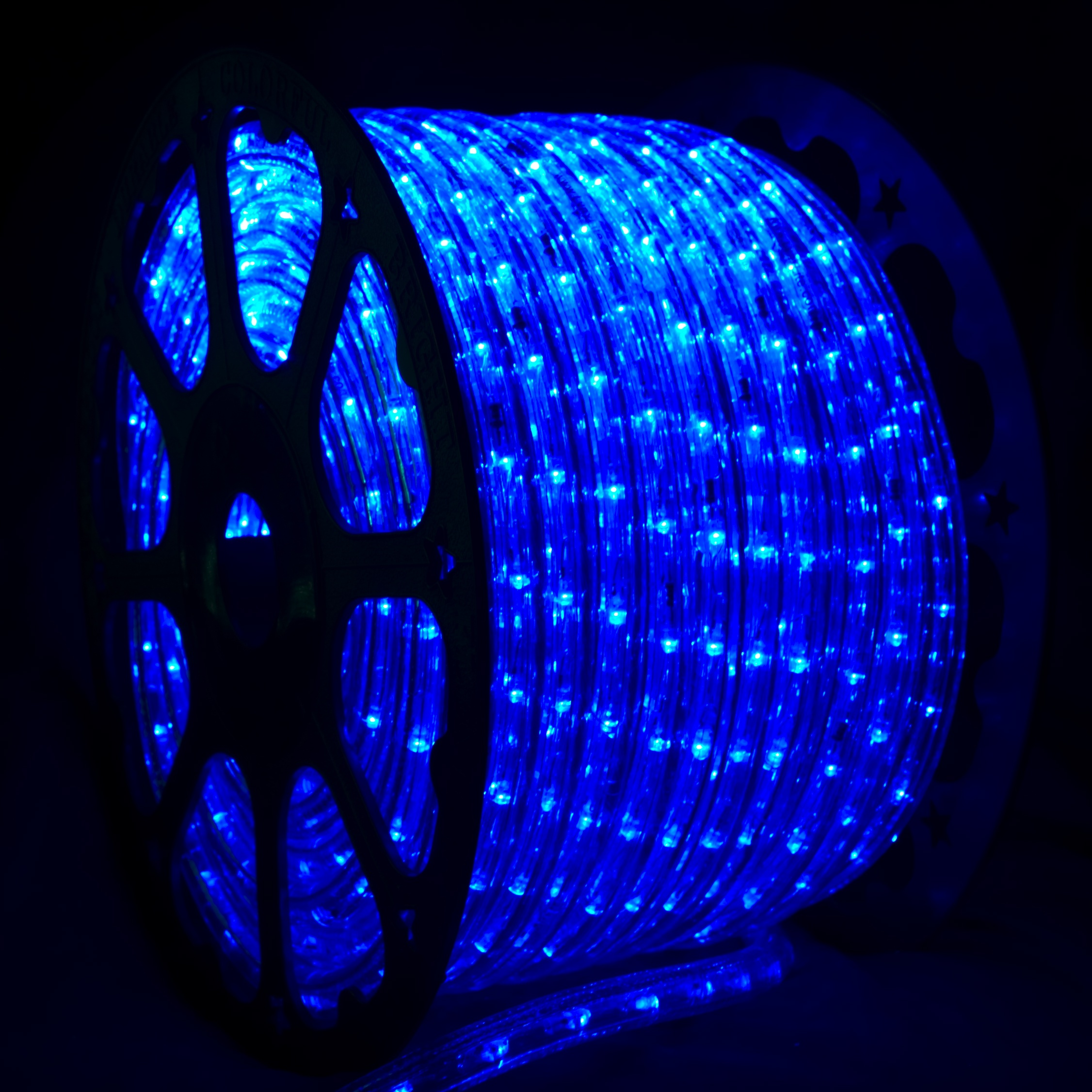 Led Rope Lights 150 Blue Led Mini Rope Light Commercial