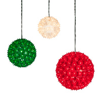 starlight spheres - Outdoor Light Up Christmas Decorations