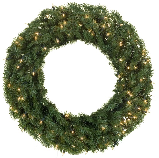 artificial christmas wreaths balsam fir prelit christmas wreath