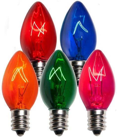 c7 christmas light bulb c7 multicolor christmas light bulbs transparent. Black Bedroom Furniture Sets. Home Design Ideas