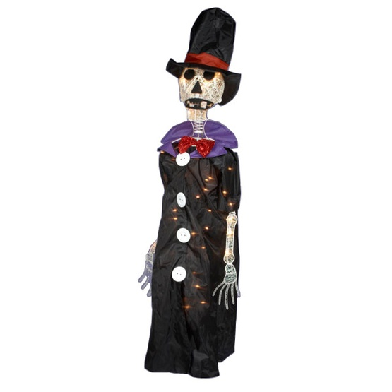 light up animated halloween skeleton - Animated Halloween Decorations