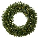 Artificial Christmas Wreaths - Christmas Wreath Lights