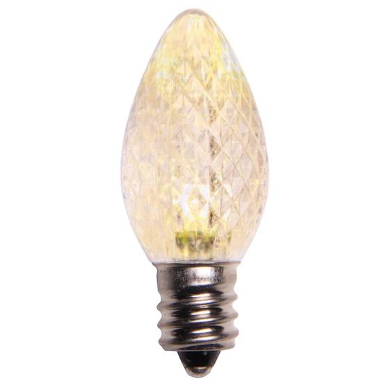 C7 Warm White Led Christmas Light Bulbs