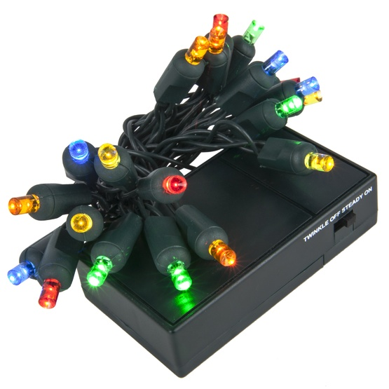 battery operated christmas lights battery operated lights 20 multicolor battery operated 10393