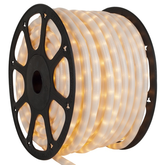 Rope light 150 pearl white chasing rope light commercial spool 150 pearl white chasing rope light 3 wire 12 mozeypictures Choice Image