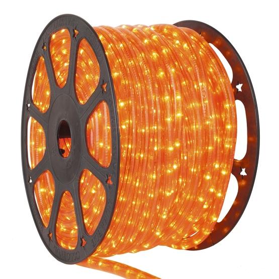 Rope light 150 orange chasing rope light commercial spool 120 volt 150 orange chasing rope light 3 wire 12 aloadofball Gallery