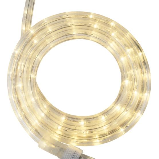 30' Warm White LED Rope Light