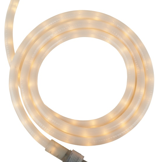 Rope lighting 18 pearl white rope light 120 volt 18 pearl white rope light 2 wire 12 aloadofball Images
