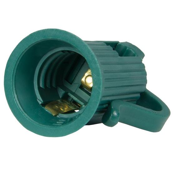 C7 Led Bulb >> C7, C9 Light Strings - Green C7 Socket, SPT1