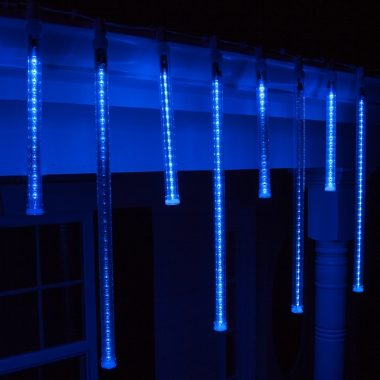 T8 Blue Grand Cascade Led Light Tubes E17 Base