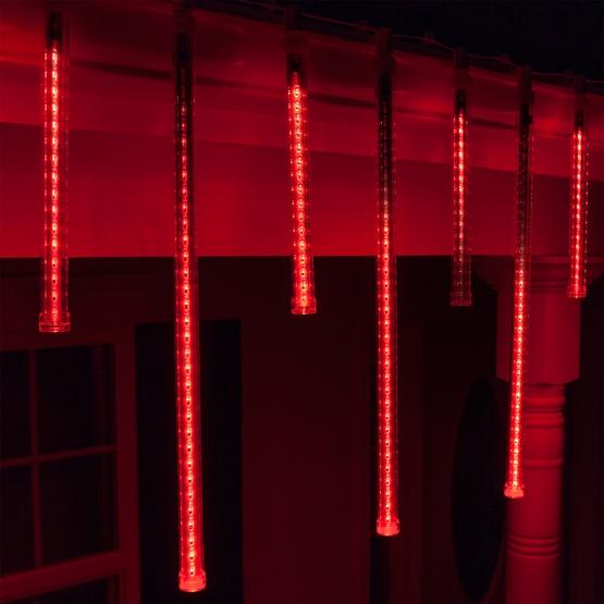 T8 Red Grand Cascade LED Light Tubes E17 Base