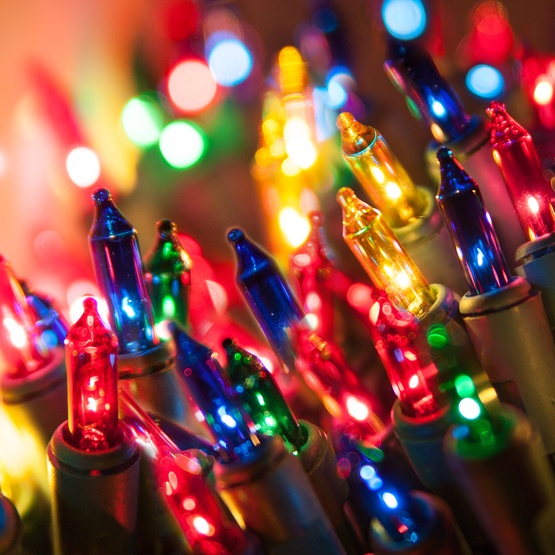 Chasing Christmas Mini Lights - 140 Multi Color Chasing Mini Lights ...