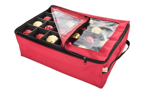 Storage and installation accessories double tray for Xmas decoration storage boxes