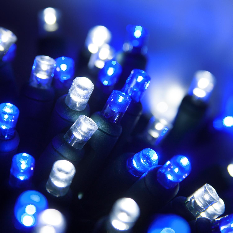 Wide Angle 5MM LED Lights 70 5mm Blue Cool White LED Christmas