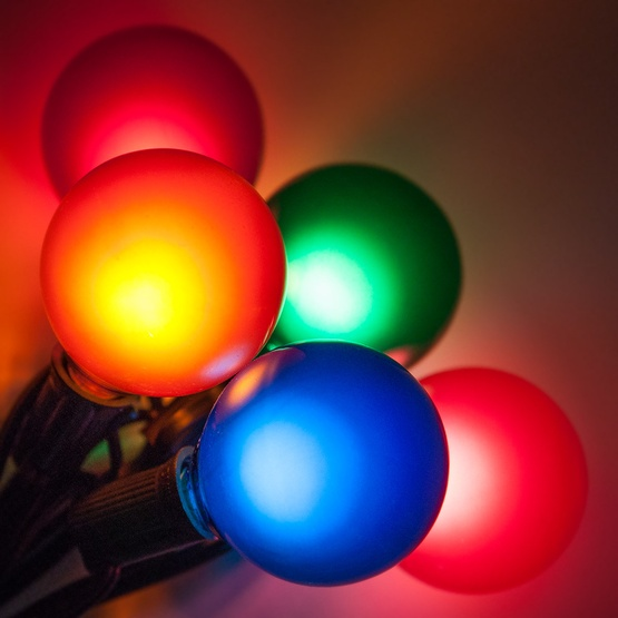 Patio lights multicolor satin party lights 33 g50 e12 bulbs black 50 outdoor patio string with 33 g50 multicolor party lights workwithnaturefo