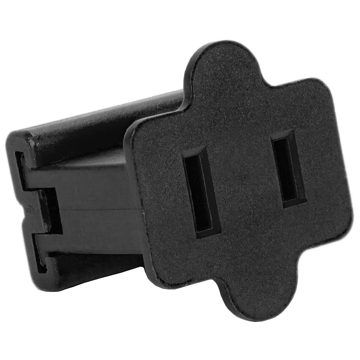 C7 C9 Light Strings Black Christmas Plug Polarized