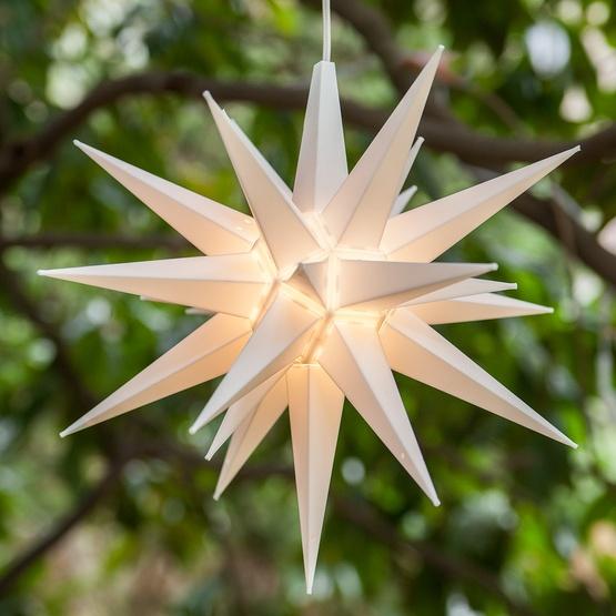 Moravian Stars 14 Quot White Led Moravian Star