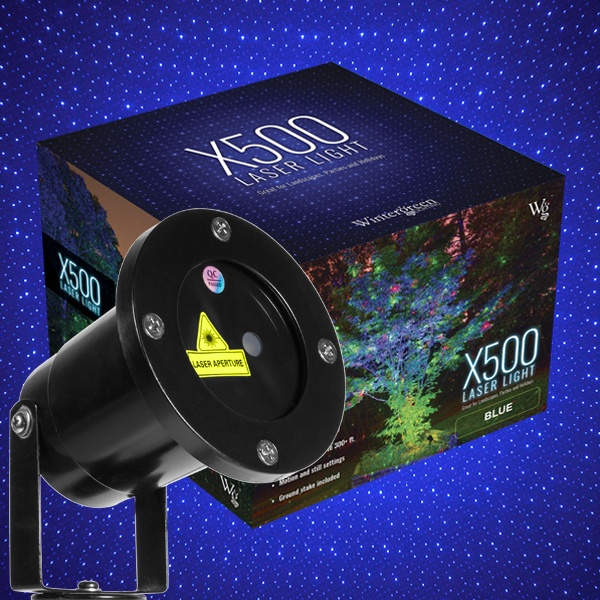 X500 Laser Christmas Light Projector