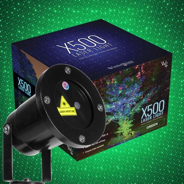 green x500 laser christmas light projector - Laser Projector Christmas Lights