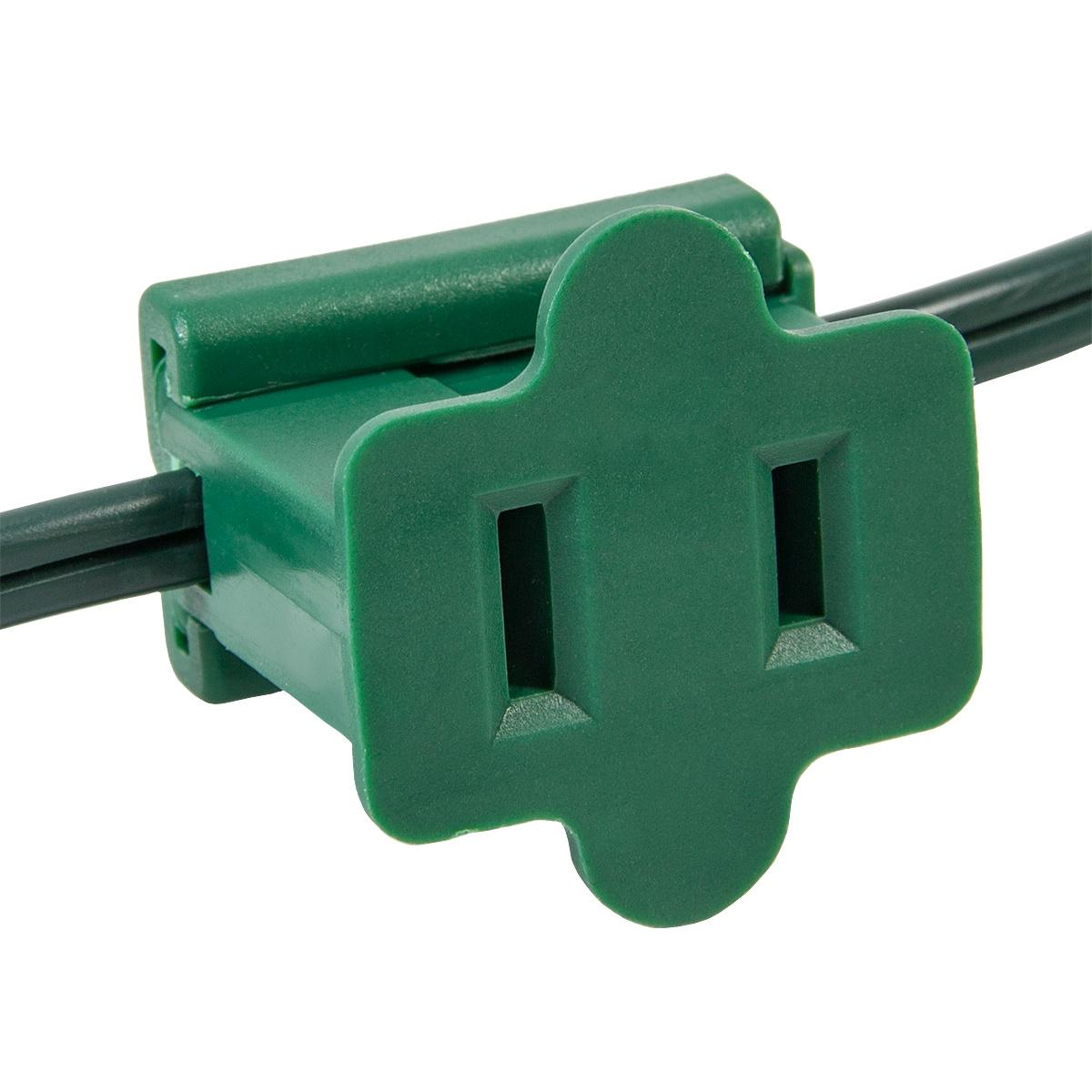 C7 C9 Light Strings Green Christmas Plug Polarized