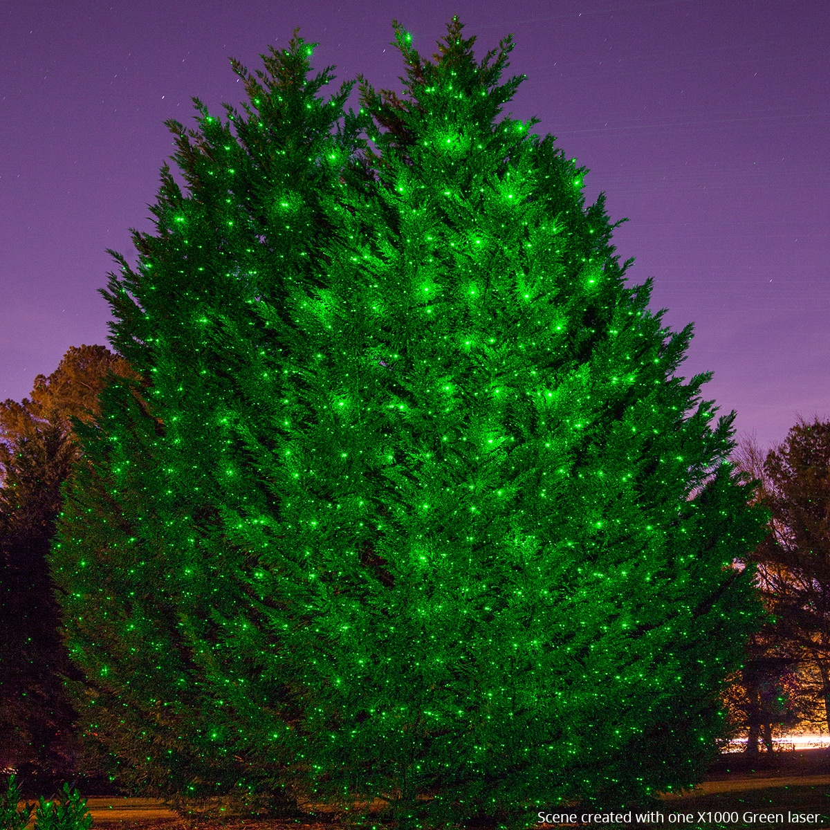 Christmas Tree Projector This Christmas tree has 3D mapped lighting ...