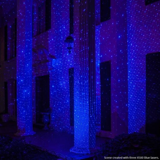 Blue X500 Laser Christmas Light Projector