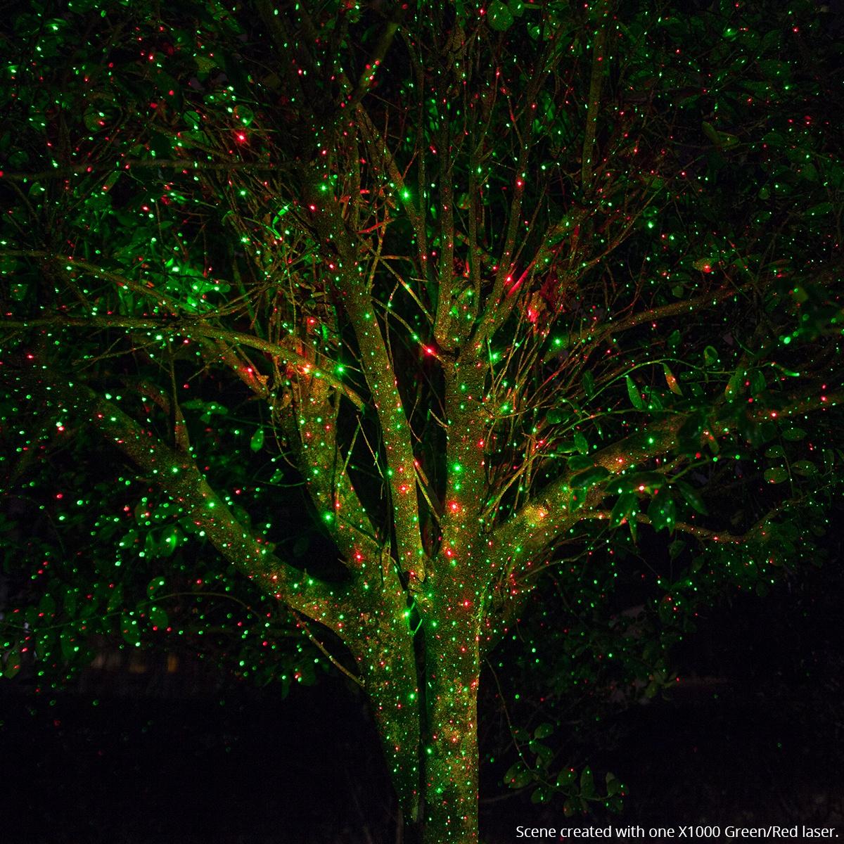 laser christmas tree lights